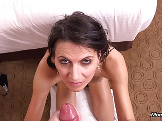 Horny busty MILF loves anal fucking