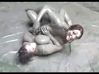 Big Tit Mud Wrestling (Requested)