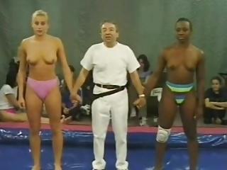 Real Wrestling (Interracial)
