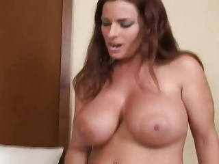 MILF cat fight and strapon