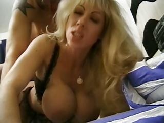 Classic Busty Cougar Assbanged