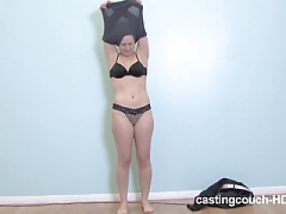 Casting couch HD  - Latina nails her audition