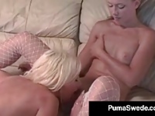 Sex Crazed Puma Swede Teaches Alicia Alighatti Ass 2 Mouth!