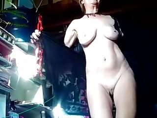 Youtube Star - K. Foster Fully Nude Dance