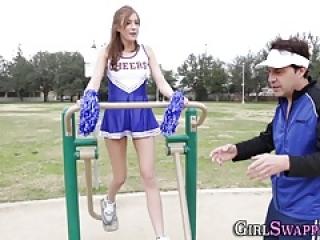 cheerleader بود نوجوان لاغر